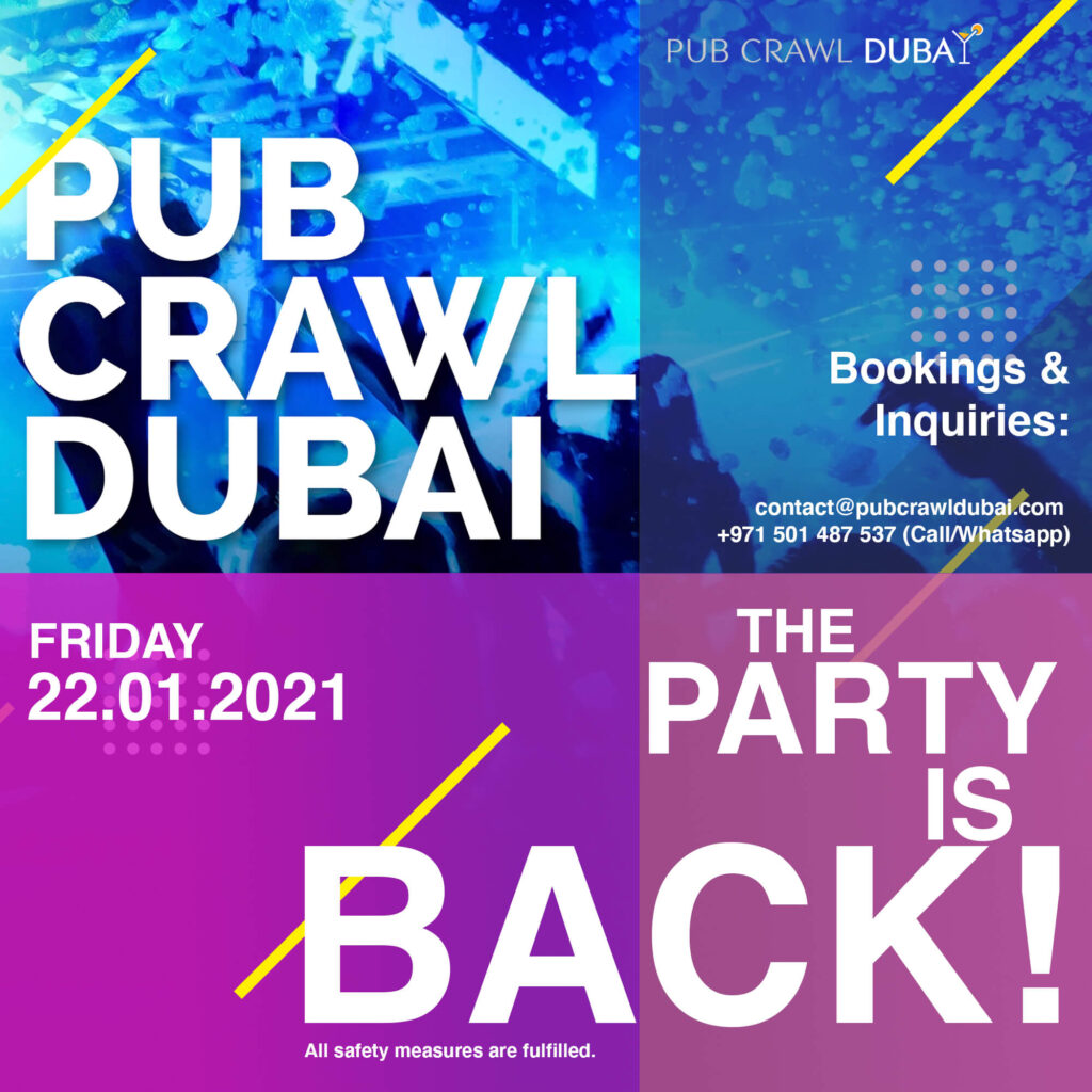 The party is back - Dubai pub crawl